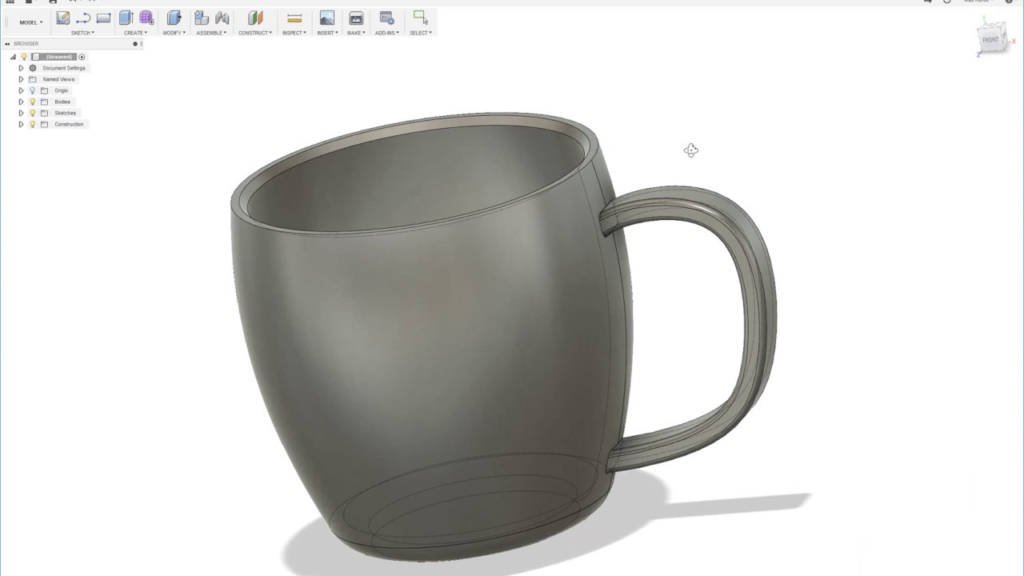 Fusion 360 Screen Shot